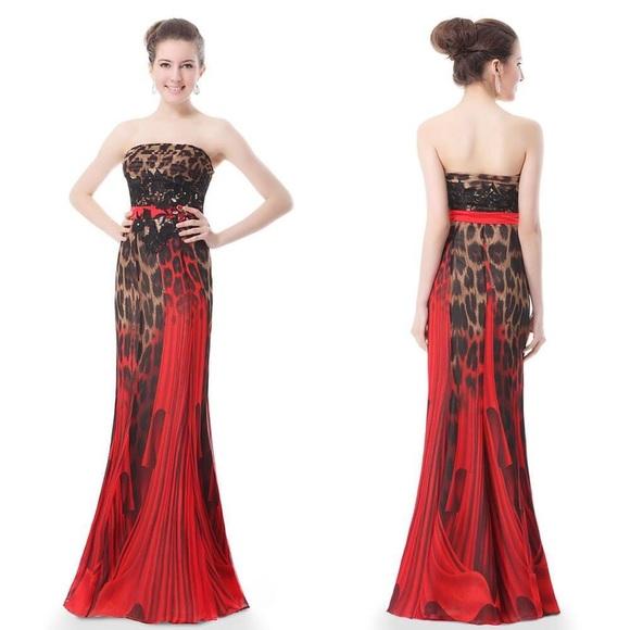 Red Fashion Dress